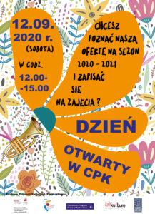 Plakat Dzień otwarty w CPK