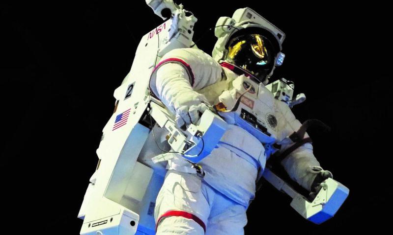 Zdjęcie - postać kosmonauty