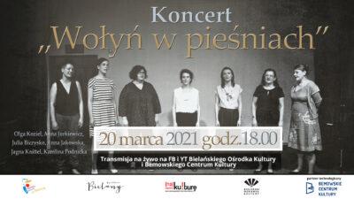 koncert Wołyń w pieśniach