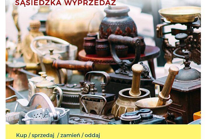 Stare przedmioty typu żelazka, moździerze, młynki
